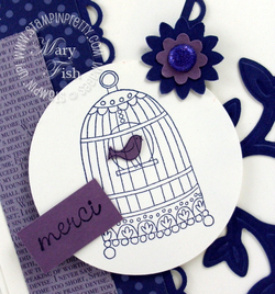 Stampin up mojo monday chic boutique merci