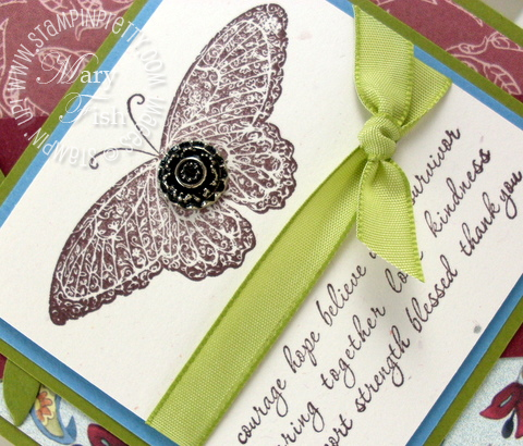 Stampin up strength and hope sneak peek stampin pretty