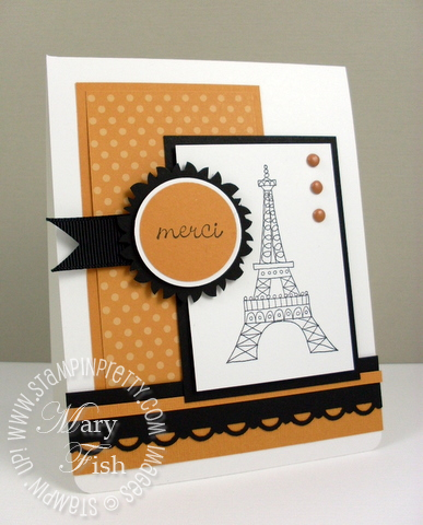 Stampin up chic boutique video tutorial mojo monday