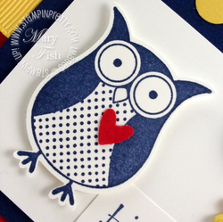 Stampin up owl punch bunch saleabration