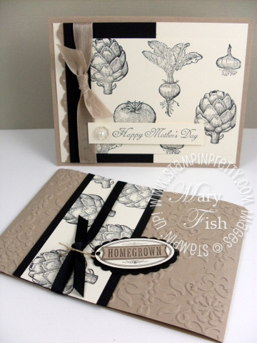 Stampin up homegrown mothers day punch
