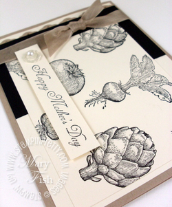 Stampin' up! mothers day card homegrown