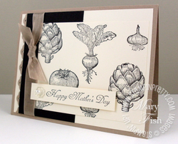 Stampin up blog homegrown mothers day card stampin pretty