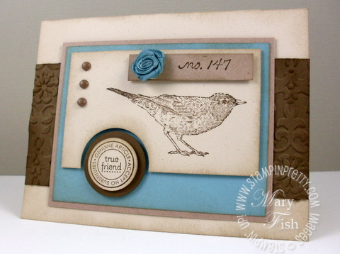 Stampin up nature walk pals paper arts