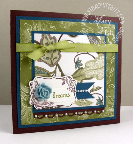 Stampin up mojo monday four frames stamp set stampin pretty blog