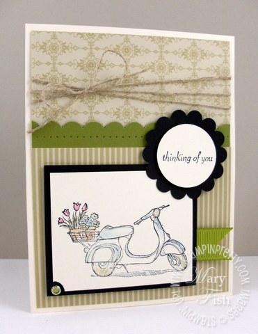 Stampin up pretty mojo monday summer mini catalog