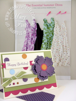 Stampin up mojo monday birthday card something to celebrate