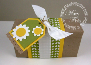 Stampin up stampin pretty big shot box die