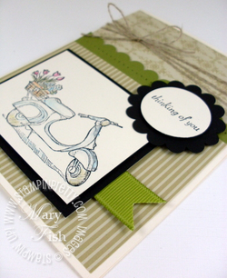 Stampin up pretty mojo monday summer mini catalog on the grow
