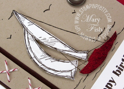 Stampin up sail away handmade card pretty ideas