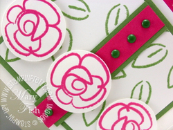 Stampin up pretty flower fest color embossing powders