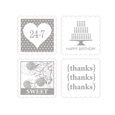 Pretty postage stampin up pretty