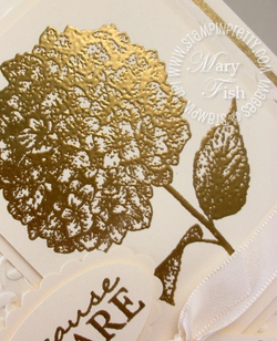 Stampin up because i care rubber stamps heat embossing