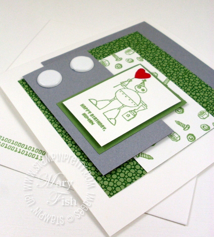 Stampin up handmade birthday card child video tutorial