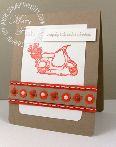 Stampin up on the grow summer mini catalog punch