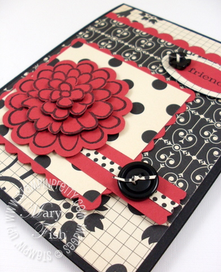Stampin up mojo monday flower fest rubber stamps handmade card ideas