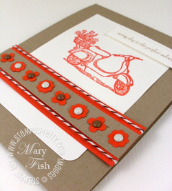 Stampin up on the grow summer mini catalot punch