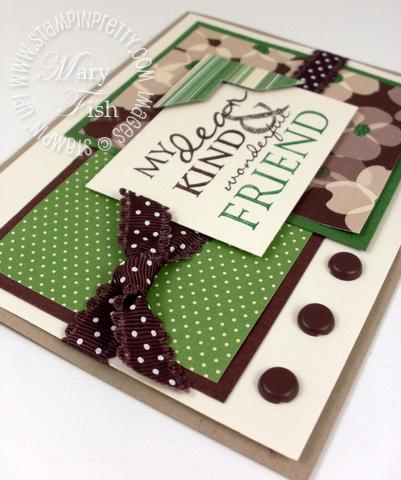 Stampin up photo corners punch ribbon all holidays card ideas