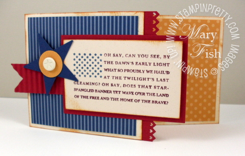 Stampin up land of the free pals paper arts
