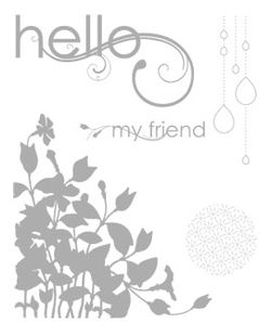 My Friend Stamp Set - by Stampin' Up!