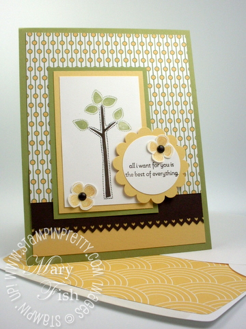 Stampin up video tutorial best of everything stamp punch