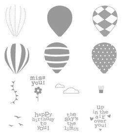 Up, Up & Away Stamp Set - by Stampin' Up!
