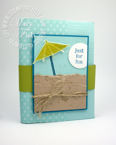 Stampin up sweets for the sweet rubber stamps mini album