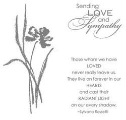 Love & Sympathy Stamp Set - by Stampin' Up!