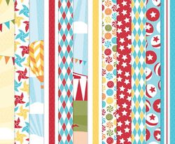 Big Top Birthday Designer Series Paper - by Stampin' Up!
