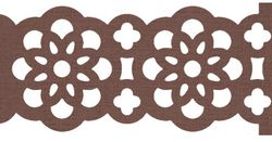 Large Lace Ribbon Border Punch - by Stampin' Up!