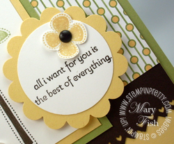 Stampin up best of everything rubber stamp scallop circle punch 2