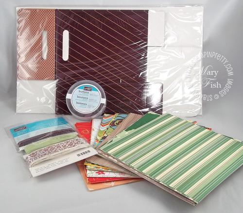Stampin up blog candy designer series paper