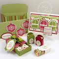 Stampin up jolly holiday workshop group