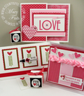 Filled with love group photo stampin pretty