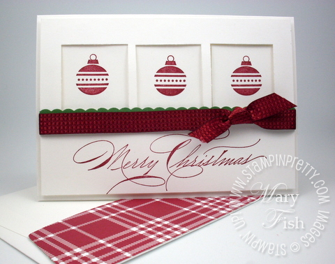 Stampin up holiday card square punch tutorial jolly bits rubber stamps