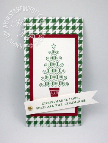Stampin up holiday petite pocket big shot die contempo christmas card catalog