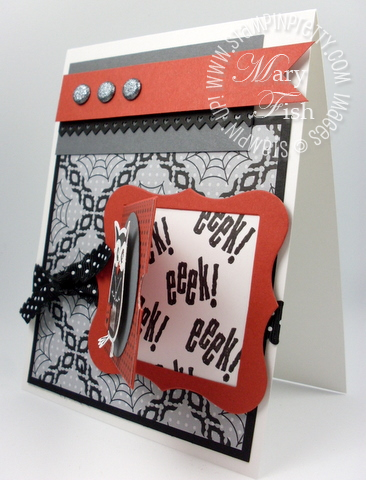 Stampin up peekaboo frames bigz big shot die halloween owl punch idea