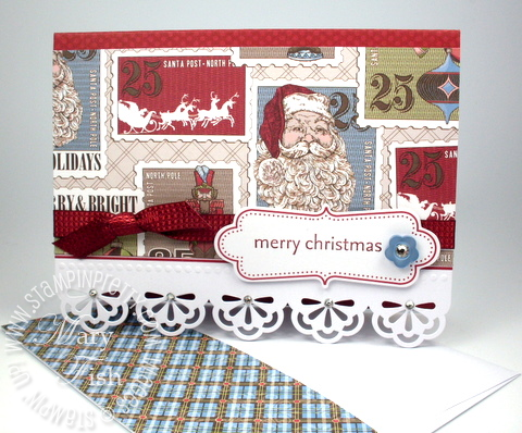 Stampin up simply sent holiday card kit sale promotion christmas