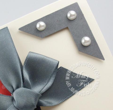 Create A Photo Corner Using A Square Punch Stampin Pretty