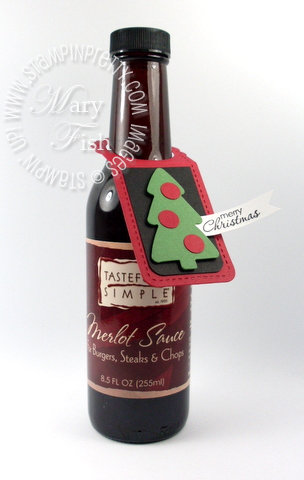 New Video Holiday Wine Bottle Tag Ideas Stampin Pretty