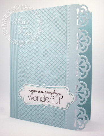 Stampin Up Simply Sent Everyday Elegance