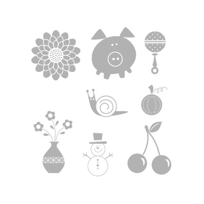 Button buddies rubber stamps stampin up