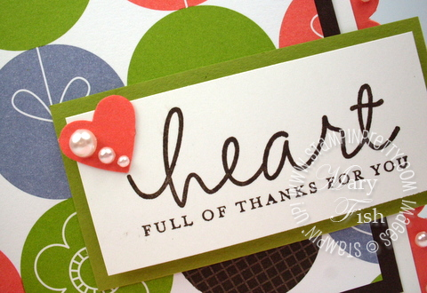 Stampin up lighthearted rubber stamp demonstrator heart punch