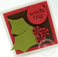 Stampin up big shot die cut machine stocking accents holly punch