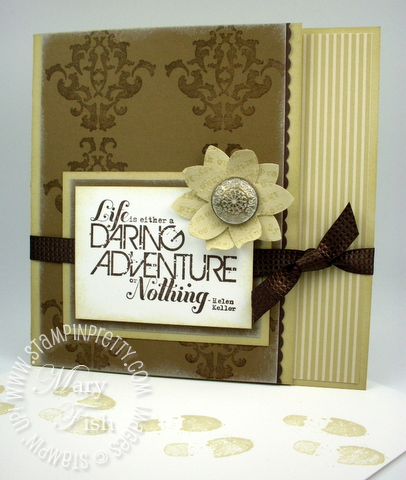 Stampin up daring adventure rubber stamp pals paper arts closed demonstrator