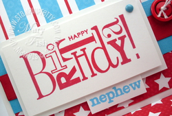 Stampin up birthday card idea demonstrator blog