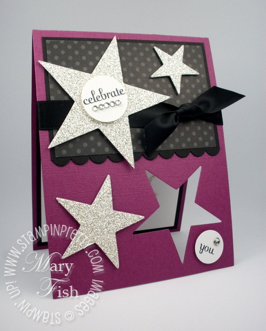 Stampin up demonstrator video tutorial star bigz movers shapers die punch