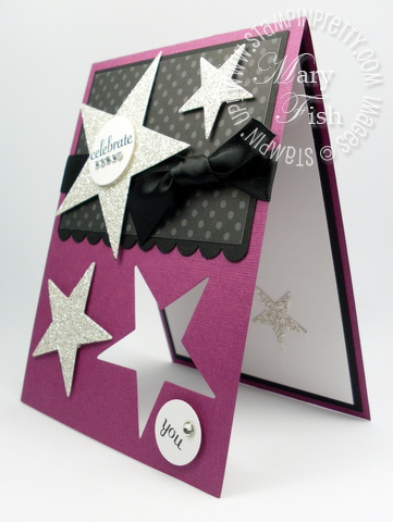 Stampin up movers shapers big shot die star demonstrator card