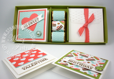 Stampin Up Sweet Shop Gift Box Video Stampin Pretty