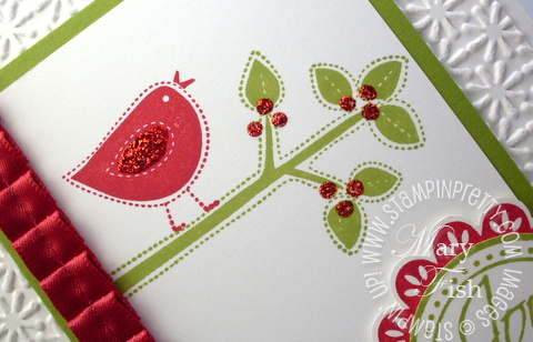 Stampin up best of everything demonstrator blog holiday card punch